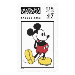Large Stamp 2.5' x 1.5' with Classic Mickey Mouse design