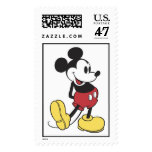 Classic Mickey Mouse Postage Stamp