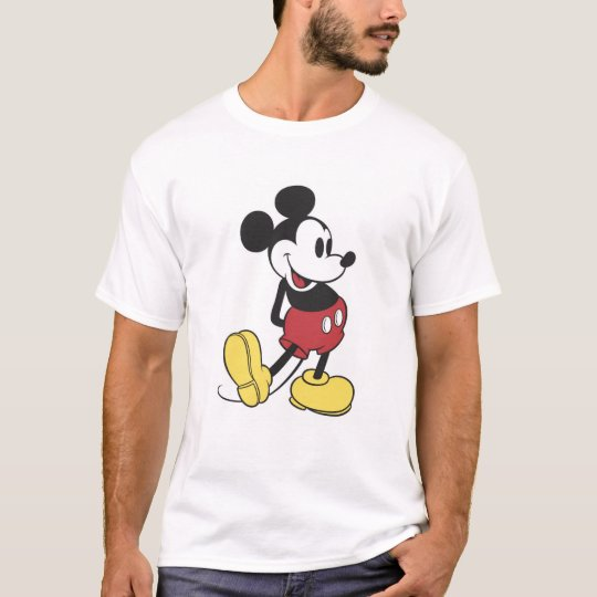 Classic Mickey Mouse T-Shirt | Zazzle.com