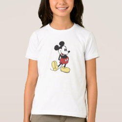 Classic Mickey Mouse Girls' American Apparel Fine Jersey T-Shirt
