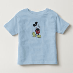 Toddler Fine Jersey T-Shirt with Classic Mickey Mouse design