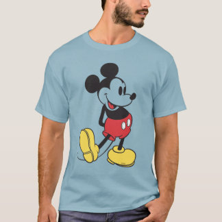 Classic Mickey Mouse - Transparent T-Shirt