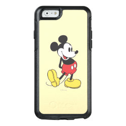 Classic Mickey Mouse OtterBox Symmetry iPhone 6/6s Case