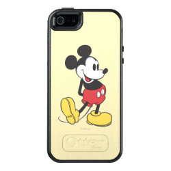 OtterBox Symmetry iPhone SE/5/5s Case with Classic Mickey Mouse design