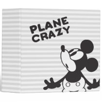 Classic Mickey | Plane Crazy 3 Ring Binder