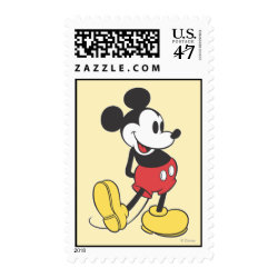 Medium Stamp 2.1' x 1.3' with Classic Mickey Mouse design