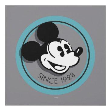 Disney Themed Classic Mickey Since 1928 4 Panel Wall Art