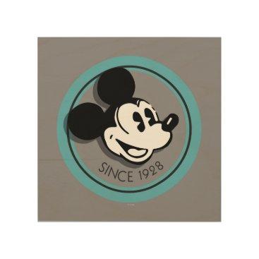 Disney Themed Classic Mickey Since 1928 5 Wood Print