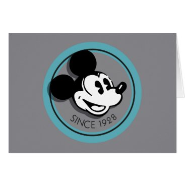 Disney Themed Classic Mickey Since 1928 Card