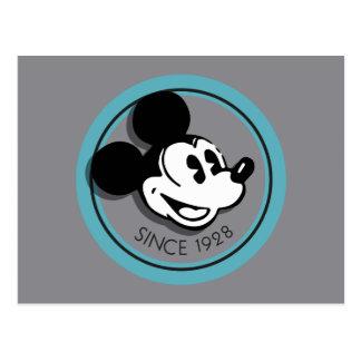 Classic Mickey Since 1928 Postcard