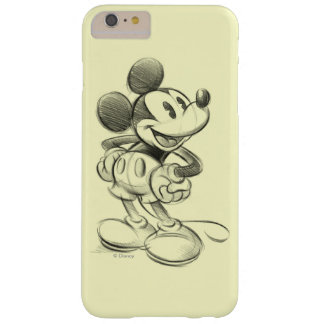 Classic Mickey | Sketch Barely There iPhone 6 Plus Case