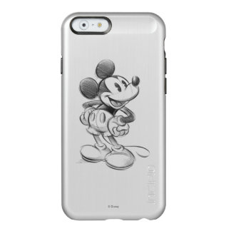 Classic Mickey | Sketch Incipio Feather Shine iPhone 6 Case
