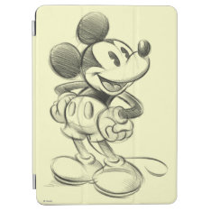 Classic Mickey | Sketch Ipad Air Cover at Zazzle