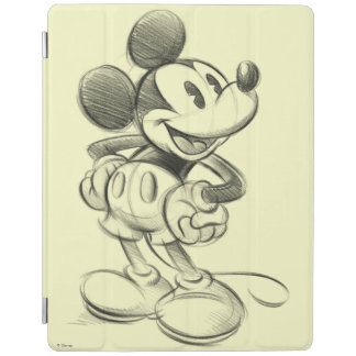 Classic Mickey | Sketch iPad Smart Cover
