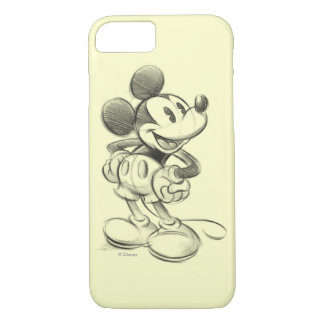 Classic Mickey | Sketch iPhone 7 Case