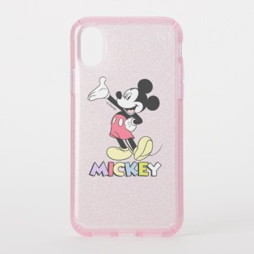 Classic Mickey Speck iPhone XS Case