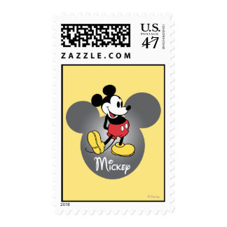 Classic Mickey | Standing in Head Postage
