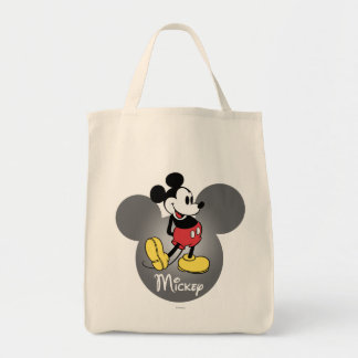 Classic Mickey | Standing in Head Tote Bag