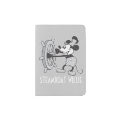 Steamboat Willie Mickey Mouse Passport Holder