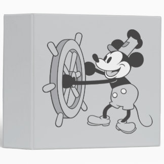 Classic Mickey | Steamboat Willie Binder