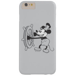 Case-Mate Barely There iPhone 6 Plus Case with Steamboat Willie Mickey Mouse design