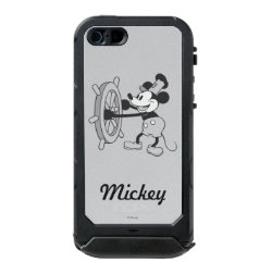 Incipio Feather Shine iPhone 5/5s Case with Steamboat Willie Mickey Mouse design