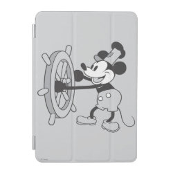 iPad mini Cover with Steamboat Willie Mickey Mouse design