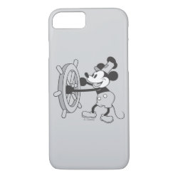 Case-Mate Barely There iPhone 7 Case with Steamboat Willie Mickey Mouse design