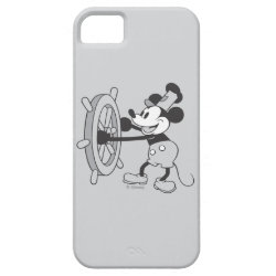 Case-Mate Vibe iPhone 5 Case with Steamboat Willie Mickey Mouse design