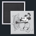 """Classic Mickey   Steamboat Willie Magnet<br><div class=""""desc"""">Mickey Mouse</div>"""
