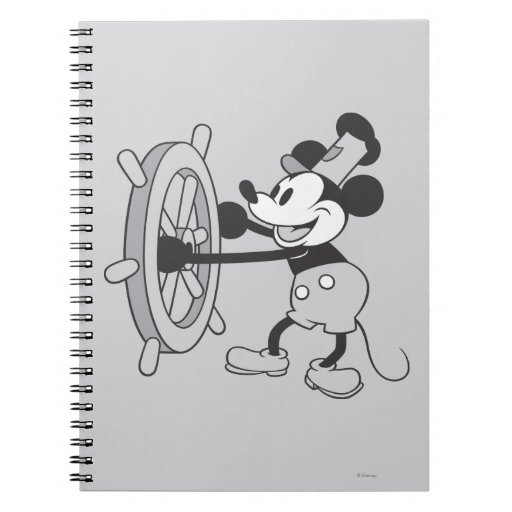 Classic Mickey | Steamboat Willie Notebook