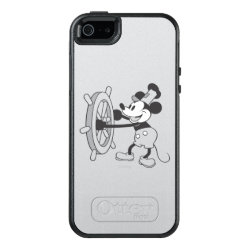 OtterBox Symmetry iPhone SE/5/5s Case with Steamboat Willie Mickey Mouse design