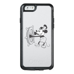 OtterBox Symmetry iPhone 6/6s Case with Steamboat Willie Mickey Mouse design