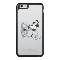 OtterBox Symmetry iPhone 6/6s Plus Case with Steamboat Willie Mickey Mouse design