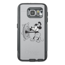 OtterBox Commuter Samsung Galaxy S6 Case with Steamboat Willie Mickey Mouse design