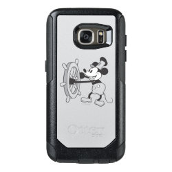 Steamboat Willie Mickey Mouse OtterBox Commuter Samsung Galaxy S7 Case