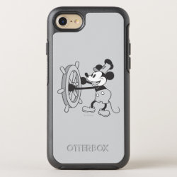 OtterBox Apple iPhone 7 Symmetry Case with Steamboat Willie Mickey Mouse design