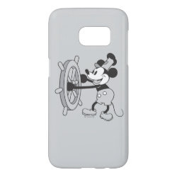 Case-Mate Barely There Samsung Galaxy S7 Case with Steamboat Willie Mickey Mouse design