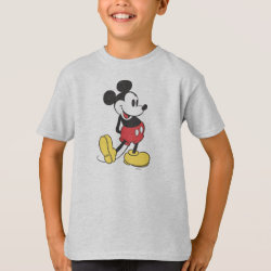 Kids' Hanes TAGLESS® T-Shirt with Classic Mickey Mouse design