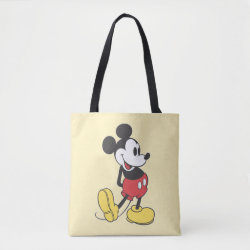 Classic Mickey Mouse All-Over-Print Tote Bag, Medium