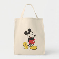 Grocery Tote with Classic Mickey Mouse design