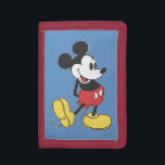 """Classic Mickey Trifold Wallet<br><div class=""""desc"""">Classic Mickey Mouse pose</div>"""