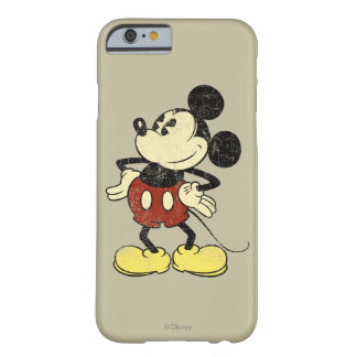 Classic Mickey | Vintage Hands on Hips Barely There iPhone 6 Case