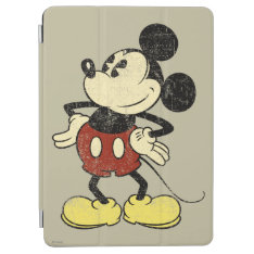 Classic Mickey | Vintage Hands On Hips Ipad Air Cover at Zazzle