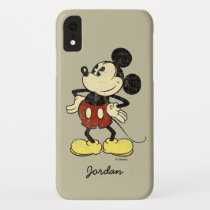 Classic Mickey | Vintage Hands on Hips iPhone XR Case