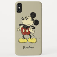 Classic Mickey | Vintage Hands on Hips iPhone XS Max Case