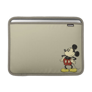 Classic Mickey | Vintage Hands on Hips MacBook Air Sleeve