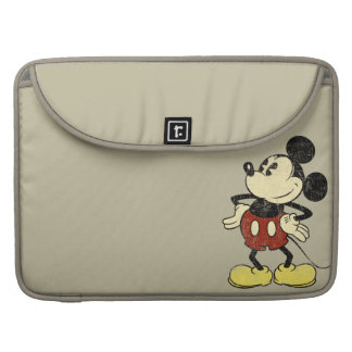 Classic Mickey | Vintage Hands on Hips MacBook Pro Sleeves
