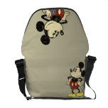 Classic Mickey | Vintage Hands on Hips Messenger Bag<br><div class='desc'>Vintage Mickey Mouse</div>