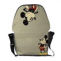 Classic Mickey | Vintage Hands on Hips Messenger Bag
